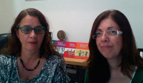 Gunga Castro e Roseli Marchetti