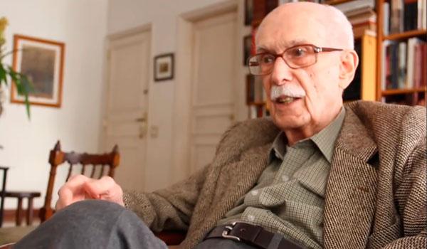 Antonio Candido em 2014 (CEDAC)