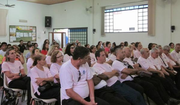 Seminário espirita em Campo Grande/MS (Foto: Wellerson Santos-blog)