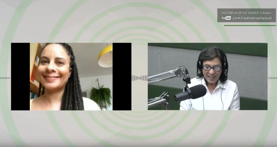 Entrevista da antropóloga e pesquisadora Jacqueline Teixeira com a jornalista Marilu Cabañas no Jornal Brasil Atual