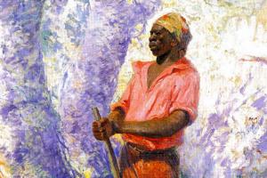 Zumbi (1927), pintura de Antonio Parreiras (1860 – 1937) / Acervo do Museu Antonio Parreiras, Niterói