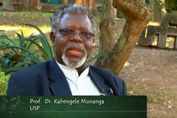 foto do professor kabengele munanga